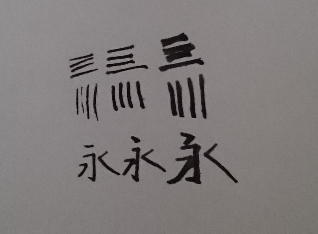 JINHAO 250Kで試し書き