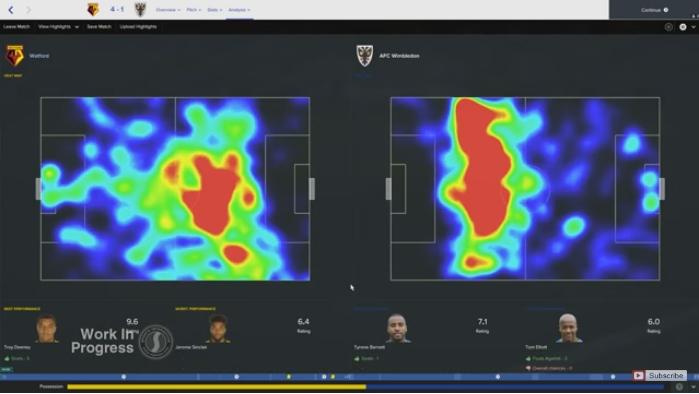 フットボールマネージャー2017の新機能:分析