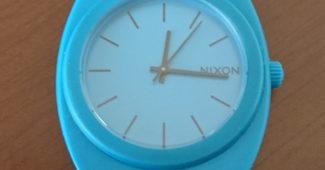 NIXON時計の電池交換